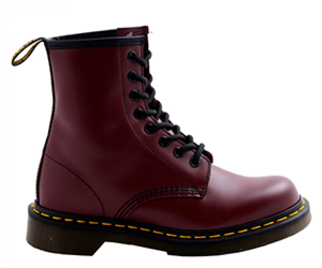 Ботинки DR. MARTENS 1460 SMOOTH CHERRY RED SMOOTH 11822600